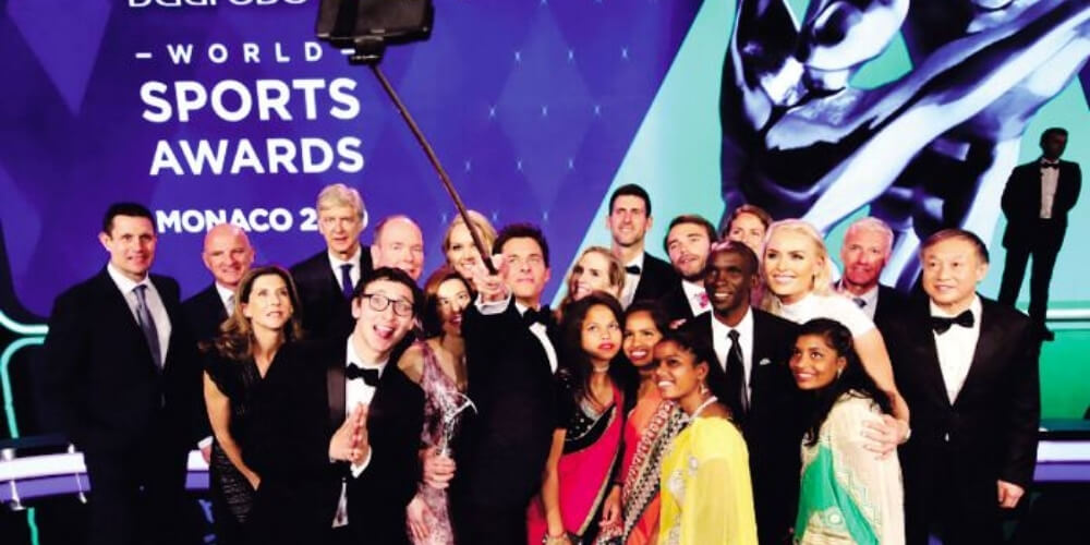 Laureus Sports Awards 2019 Winners: Sports Stars Flashing Spark