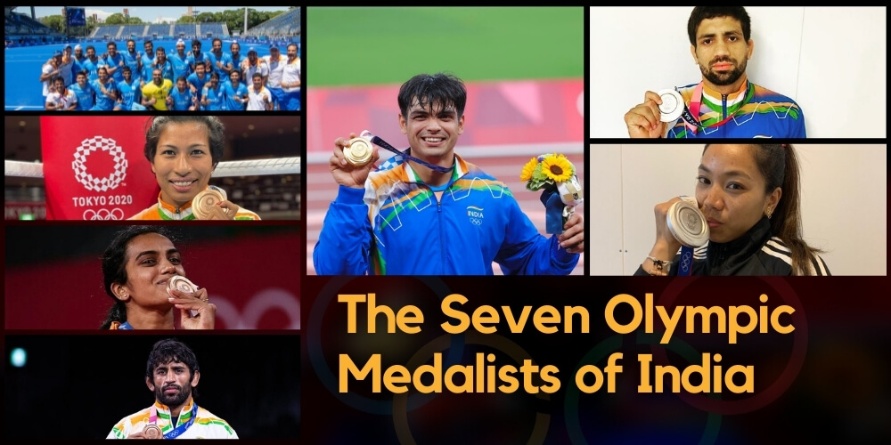 Tokyo Olympics: The Seven Olympic Medalists of India