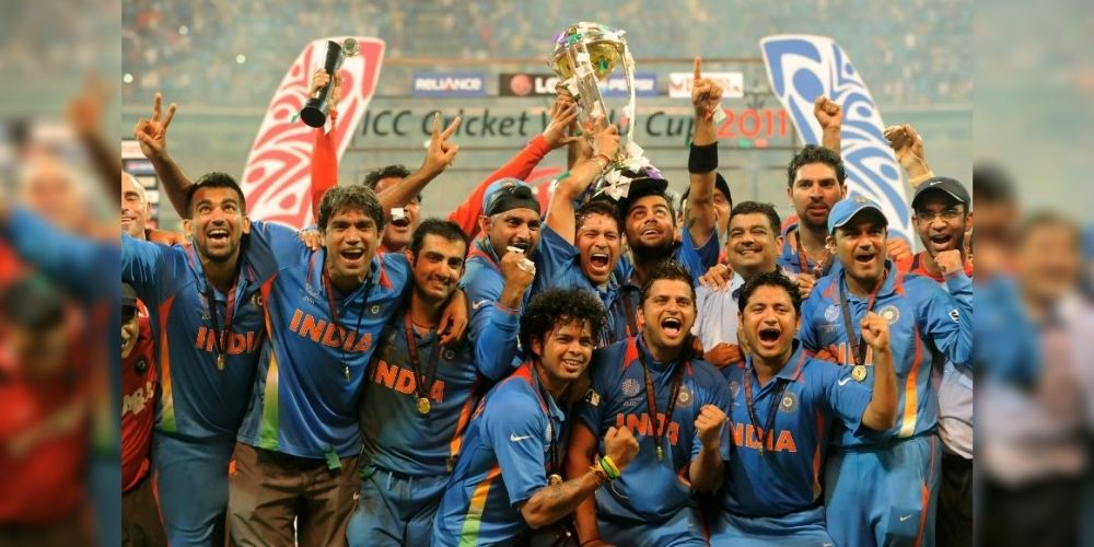 India won their second World Cup title after 28 years