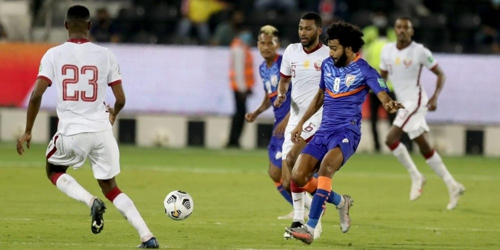 2022 FIFA World Cup Qualifiers: Men in blue suffered their third defeat as India lost 1-0 to Qatar