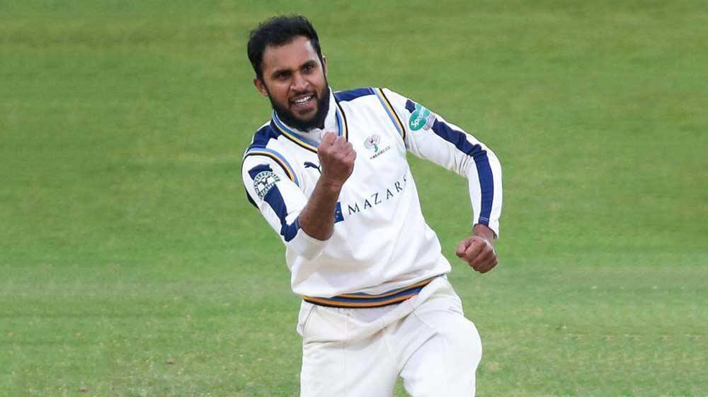 Adil Rashid signs new one-year white-ball contract with Yorkshire for 2021