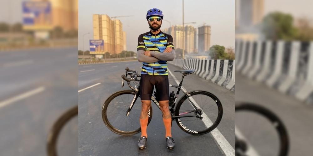 Kashmiri cyclist Adil Teli covered 3600 km in 8 days; Broke the Guinness World Record