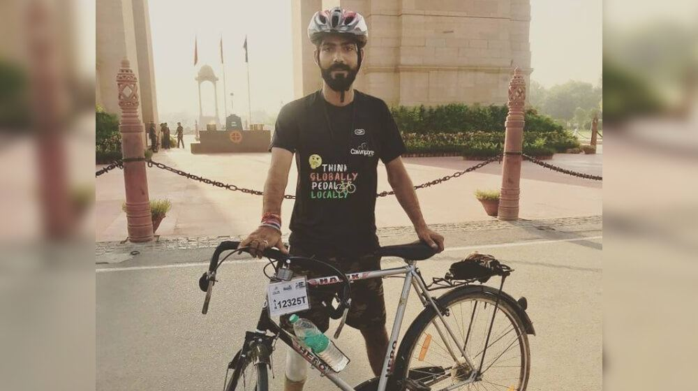 Akshay Singh Rajput: A keen Bicycle Rider with big dreams