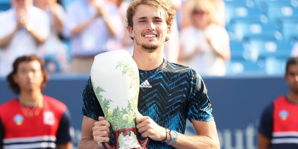 Alexander Zverev rose to Fourth Spot in the latest ATP Rankings after Cincinnati Masters title
