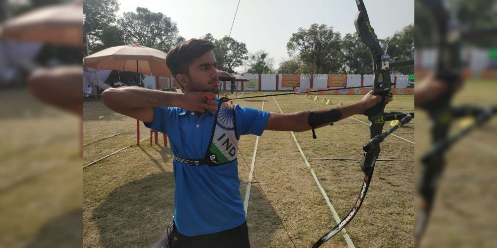 MP archers wins 3 junior national medals despite losing all equipment in train fire
