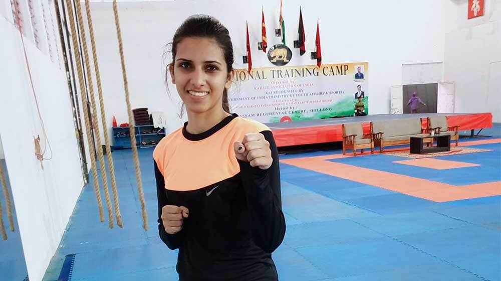 Amritpal Kaur: The best known young face of Karate in India