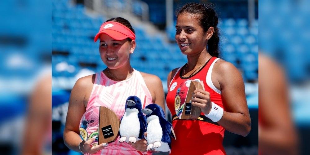 Ankita Raina wins first-ever WTA 250 doubles title