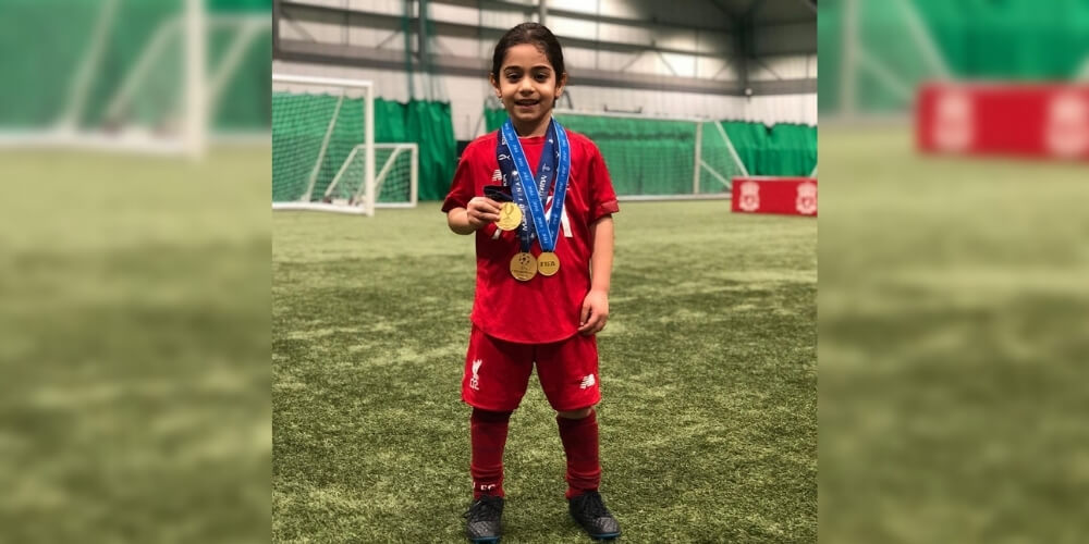 Arat Hosseini: A 7-year-old Iranian footballer who has millions of admirers around the world