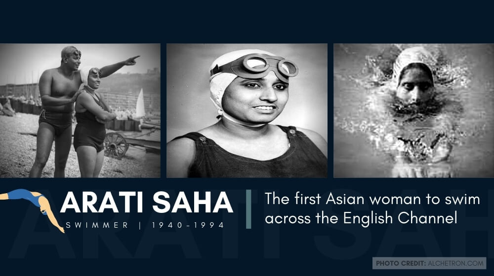 Arati Saha: The first Asian woman to swim across the English Channel