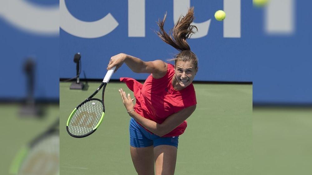 Aryna Sabalenka entered Ostrava Open semi-finals, winning 12 straight games