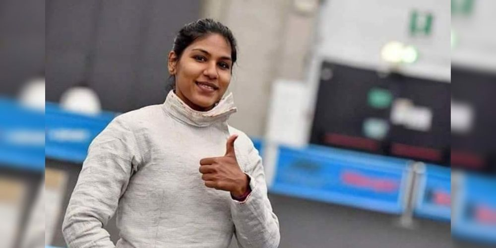 Bhavani Devi became the first-ever fencer from India to qualify for Olympics