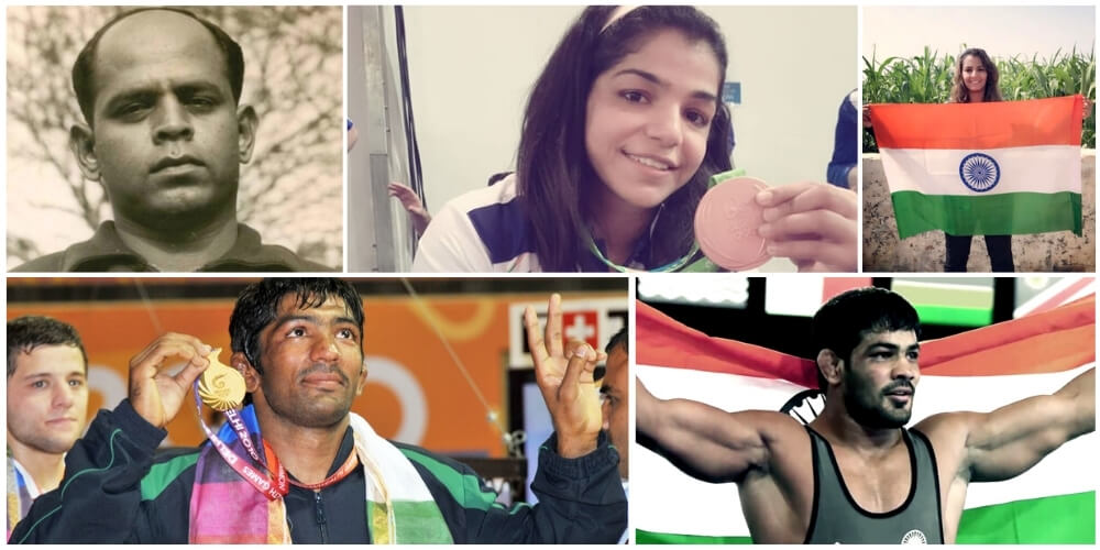 Top-notch Amateur Wrestlers of India