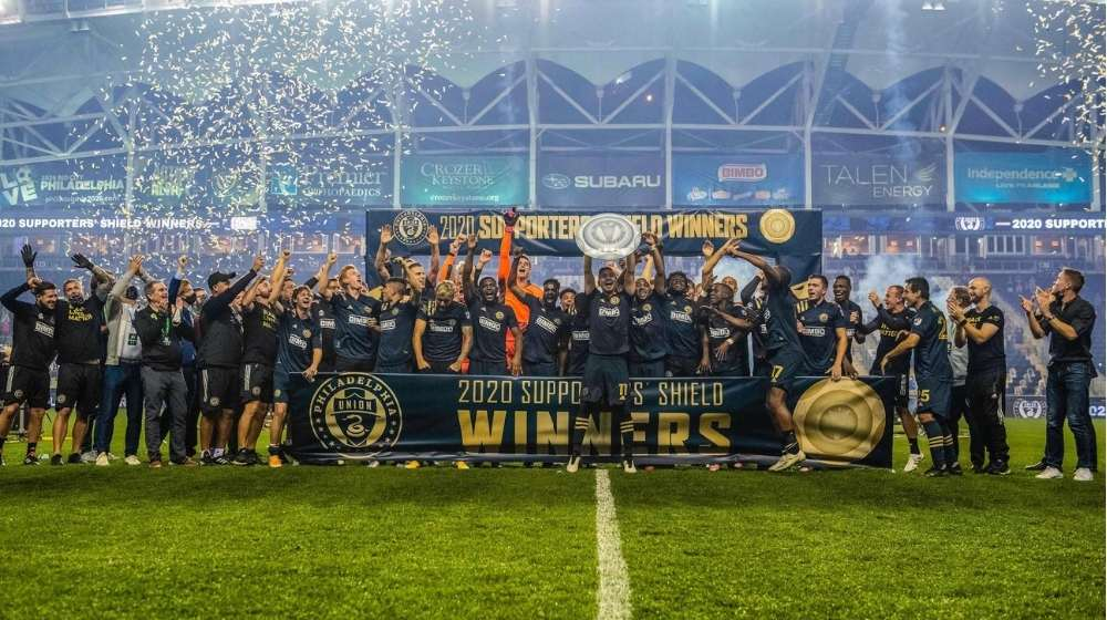 Philadelphia Union claims the 2020 MLS Supporters' Shield, their first-ever trophy