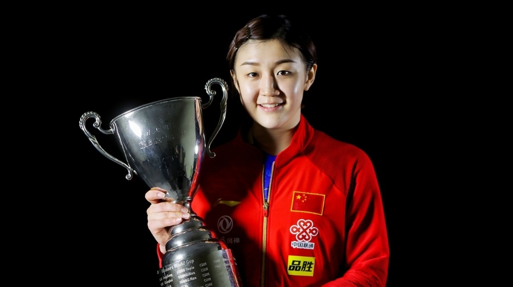 China's Chen Meng claimed the ITTF Women's World Cup maiden title