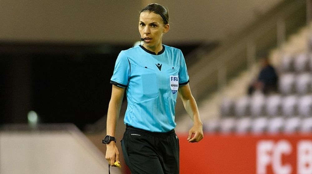 France's Stephanie Frappart becomes first woman to Referee in UEFA Champions League