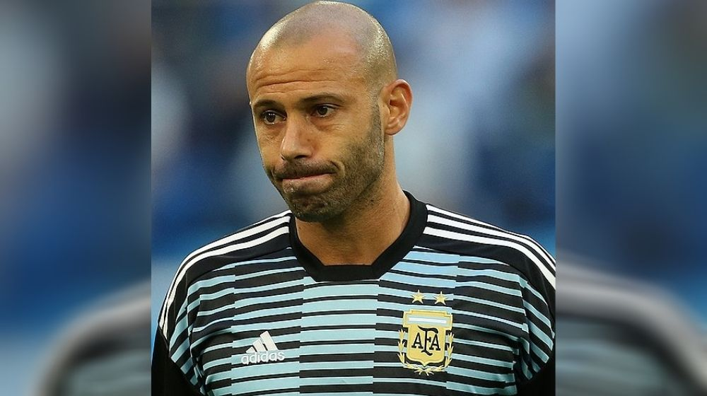 Argentina great Javier Mascherano announced retirement at the age of 36