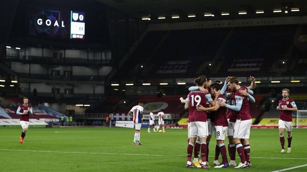 Burnley FC records their first Premier League victory of the season