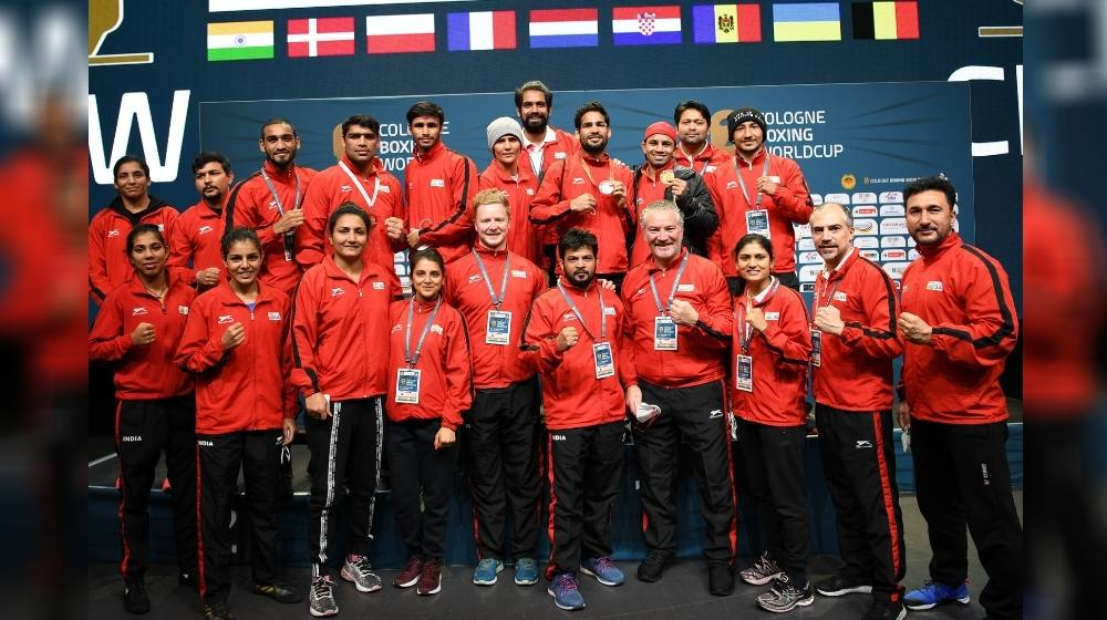 India ended the Cologne Boxing World Cup campaign with second spot and 9 medals