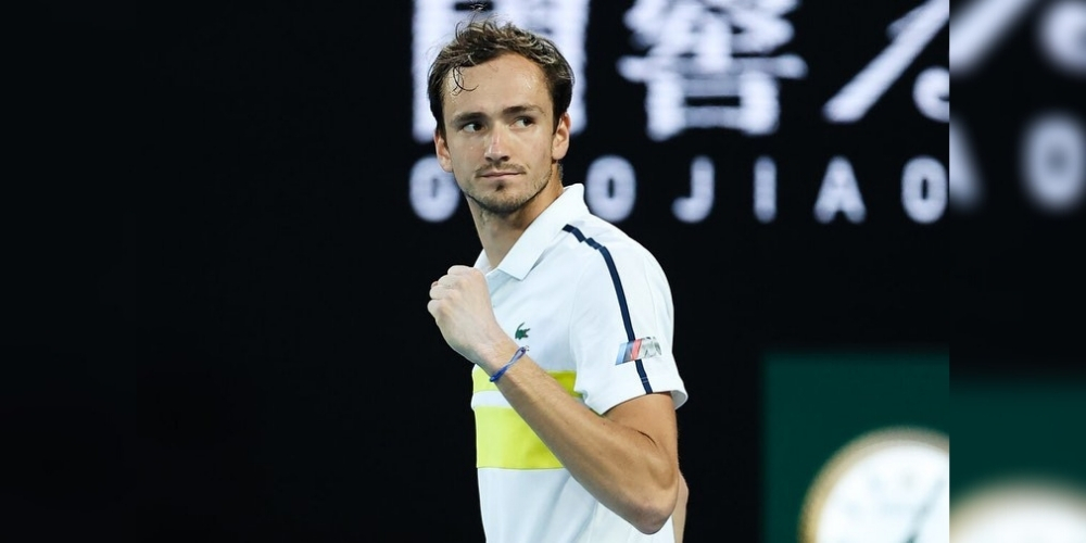 Daniil Medvedev breaks into top three for the first time in the ATP rankings