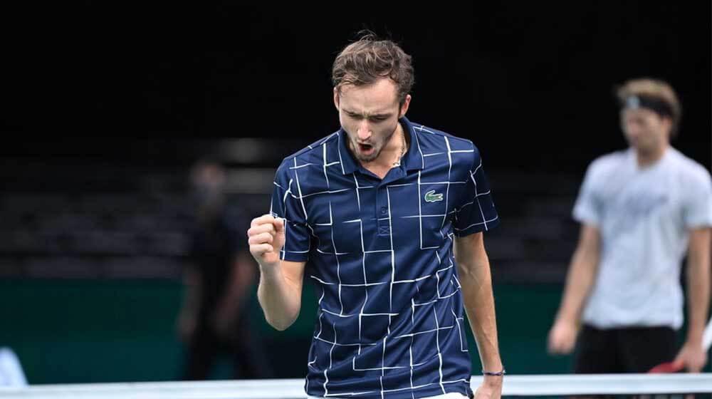 Daniil Medvedev overtakes Federer in ATP Rankings, Djokovic remains on Top
