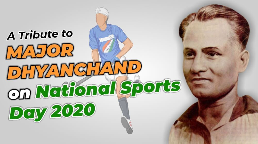 "A Tribute to Major Dhyanchand on National Sports Day 2020: A legend who said ""NO"" to Hitler"