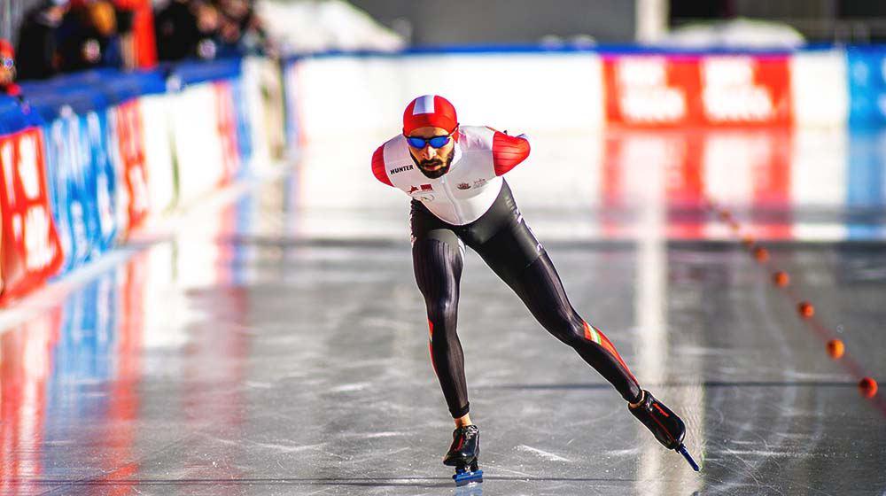 Vishwaraj Jadeja: The Story of India's Fastest Long-Track Ice Skater