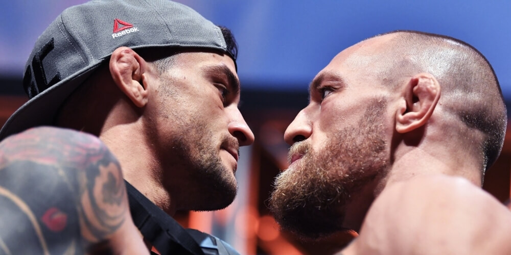Dustin Poirier wins third clash of rivals as Conor McGregor suffered broken leg injury at UFC 264