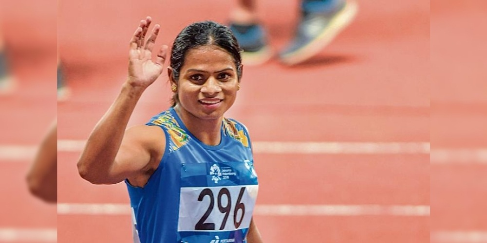 Sprinter Dutee Chand aims for Tokyo Olympic qualification through Indian Grand Prix