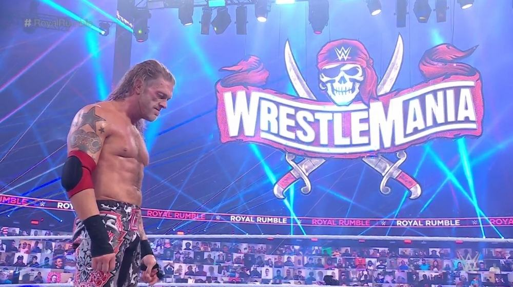 WWE Royal Rumble: Edge becomes the champion for second time