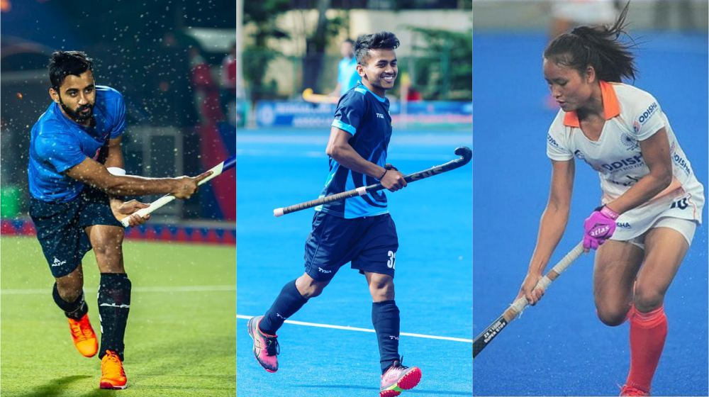 Manpreet titled FIH Player of the Year, while Lalremsiami and Vivek named FIH Rising Star of the Year