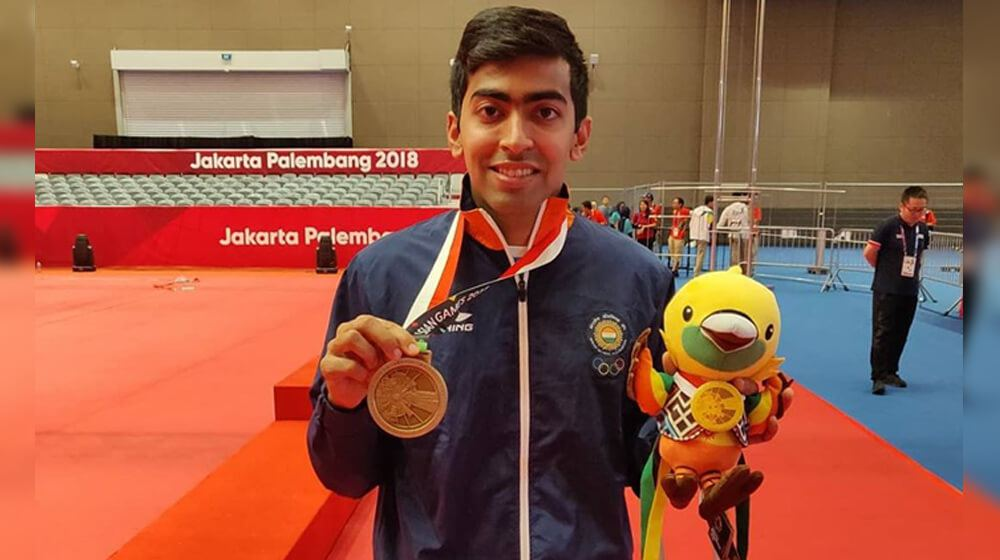 The Rising Star of Indian Table Tennis - Harmeet Desai