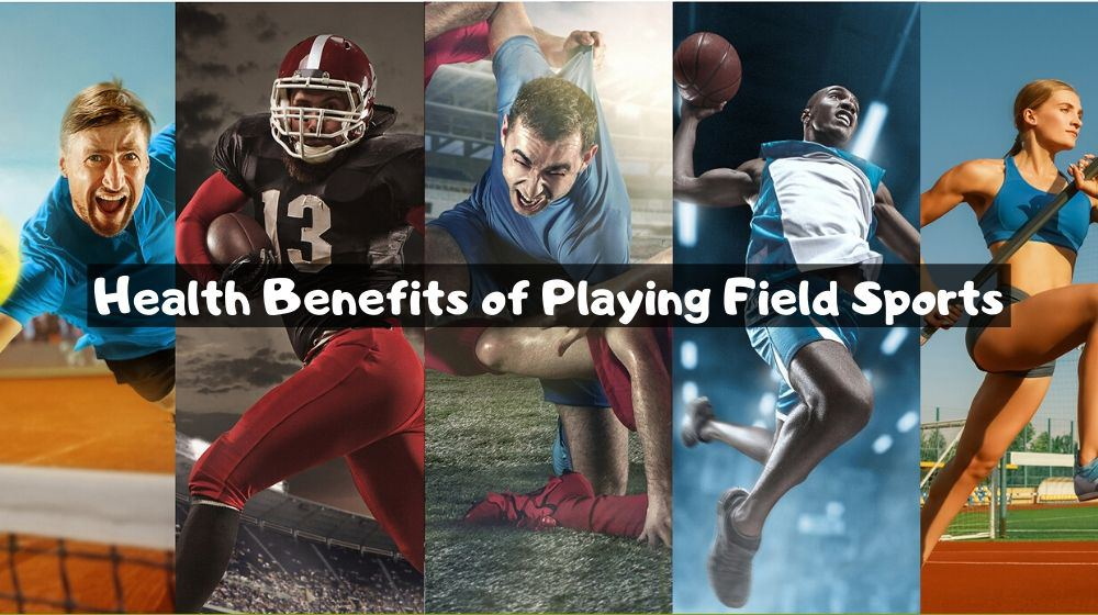Health benefits of playing field sports