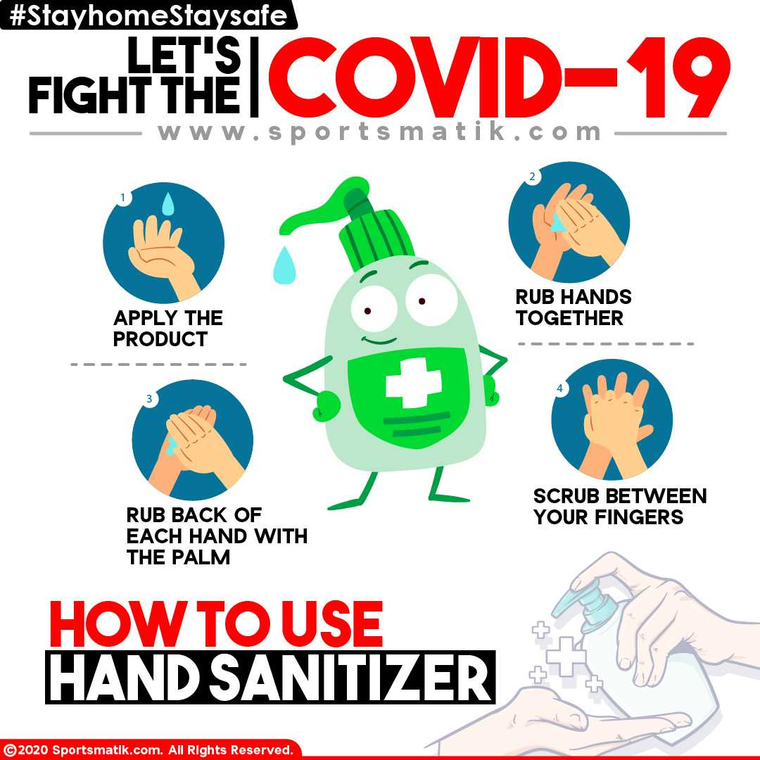HOW TO USE HAND SANITIZER?
