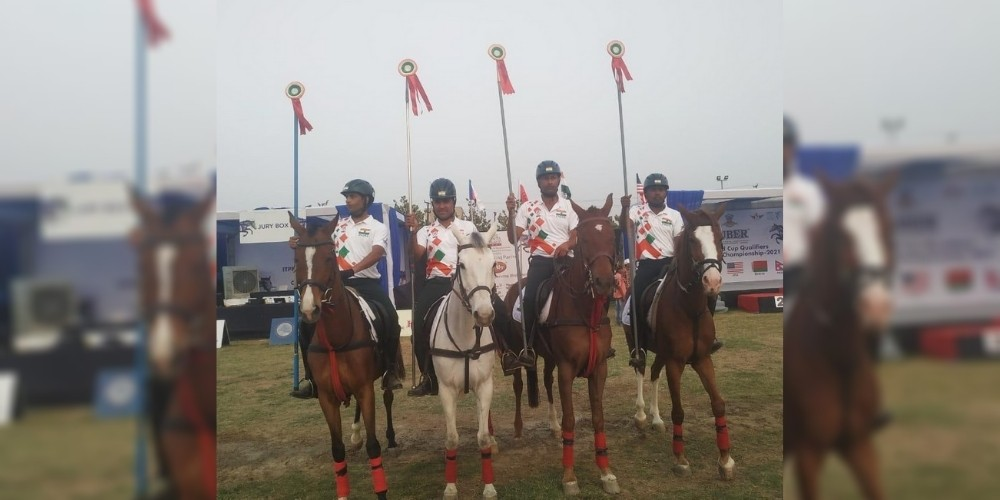 India's Lance team wins gold at Tent Pegging Federation World Cup qualifiers