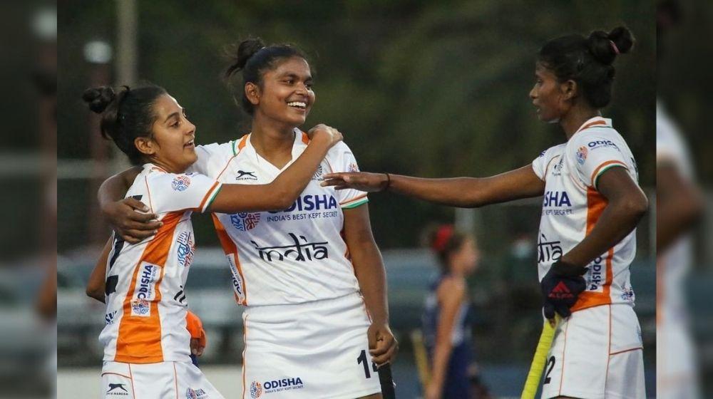 India's Juniors beats Chile Seniors in Women's Hockey