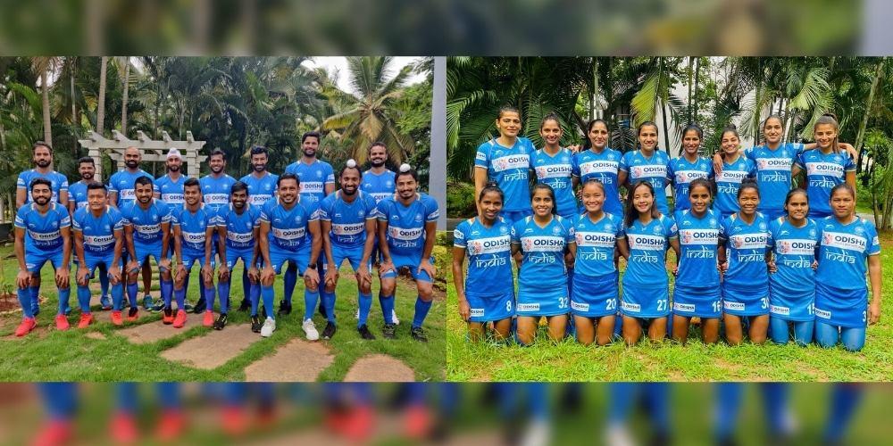Tokyo Olympics: India named Ten debutants in Men's and Eight debutants in Women's Hockey Team