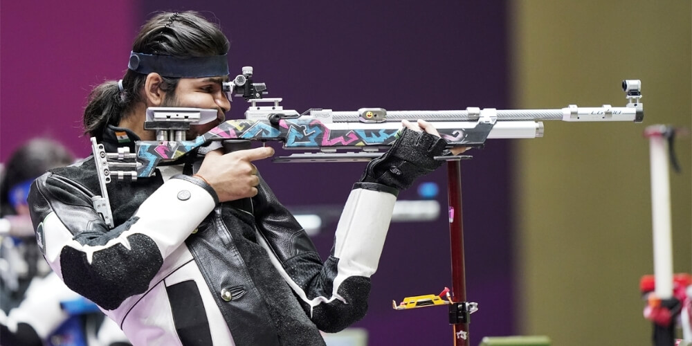 Tokyo Olympics: Indian shooters knocked out of 10m Air Rifle Mixed qualifications