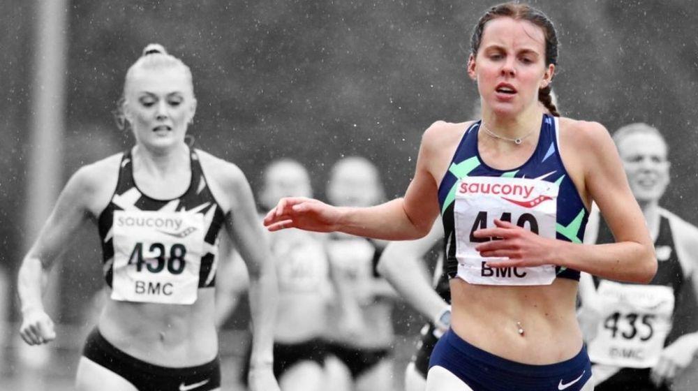 Keely Hodgkinson sets new world U-20 indoor 800m record