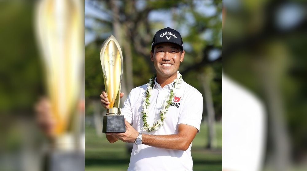 Kevin Na wins the US PGA Tour Sony Open title
