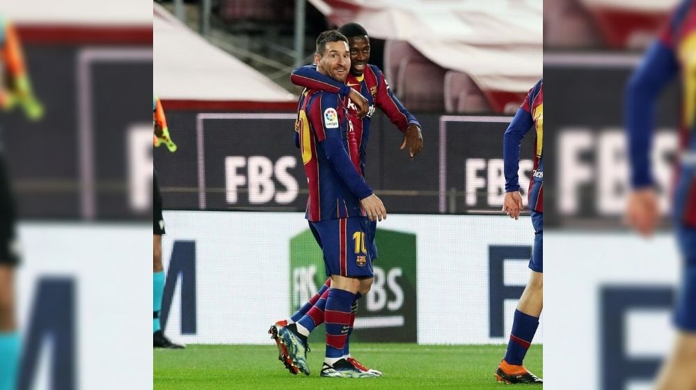 Lionel Messi hits 650th Career Goal for FC Barcelona