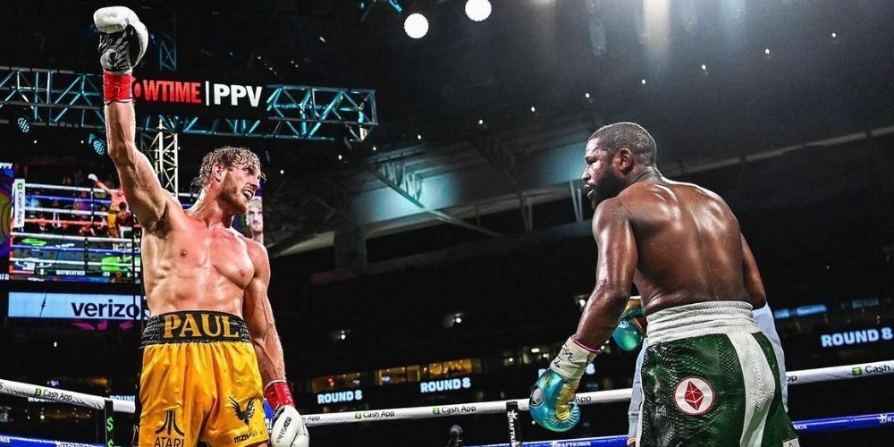 Logan Paul v Floyd Mayweather: YouTube personality goes eight rounds against unbeaten champ