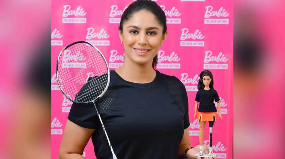 Para-badminton star Manasi Joshi gets Barbie doll named after her