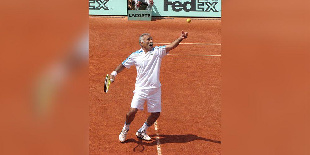 Mansour Bahrami: The Master of Tennis Trick Shots