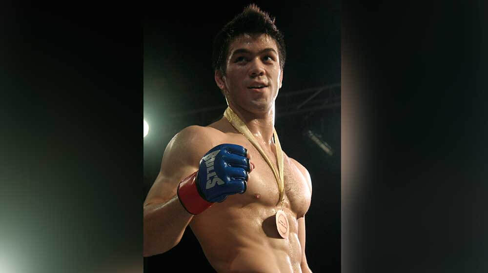 Mark Striegl: Filipino MMA fighter makes his UFC debut, following Pacquiao's path
