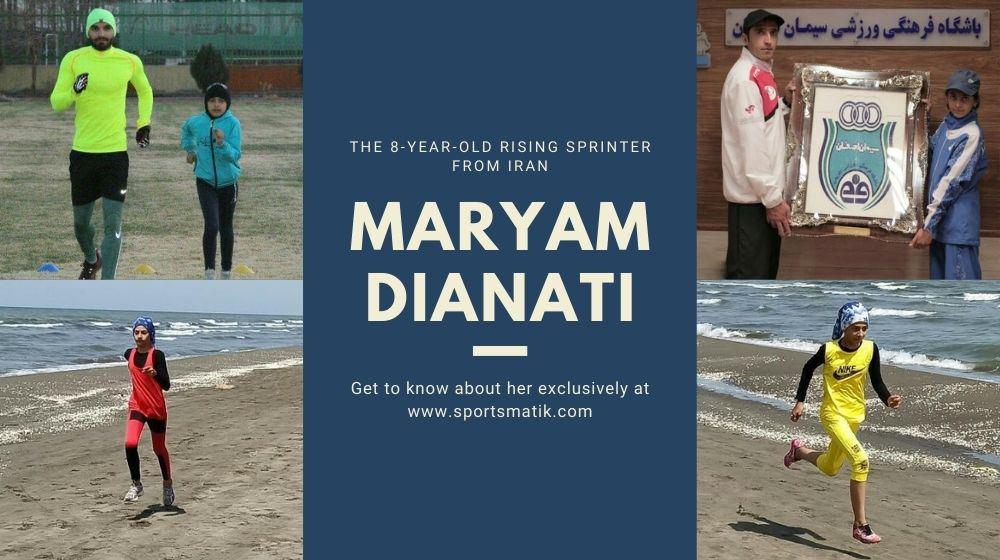 The 8-year-old Rising Sprinter from Iran - Maryam Dianati