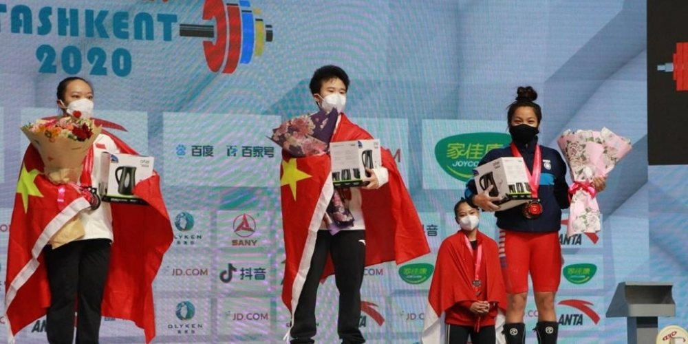 Asian Weightlifting Championships: Mirabai Chanu sets new world record in Clean & Jerk to claim Bronze