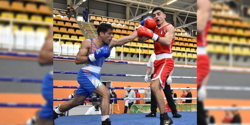 Mohammed Hussamuddin advances in the semis, Amit Panghal ousted from Boxam Internationals