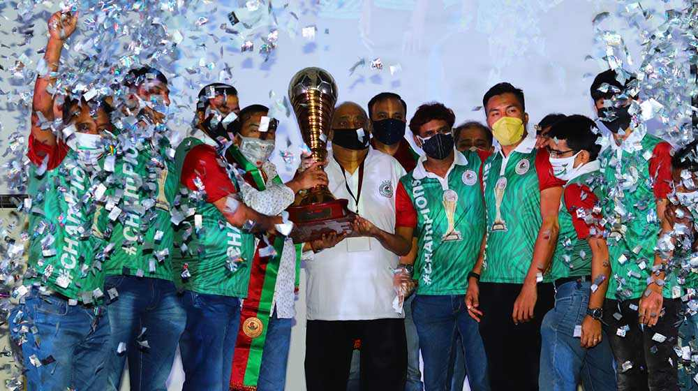 Mohun Bagan handed over I-League Trophy, 7 months after winning