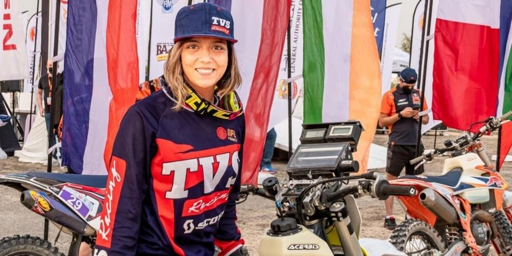 Motorcycle rider Aishwarya Pissay clinches 3rd position in FIM Bajas World Cup
