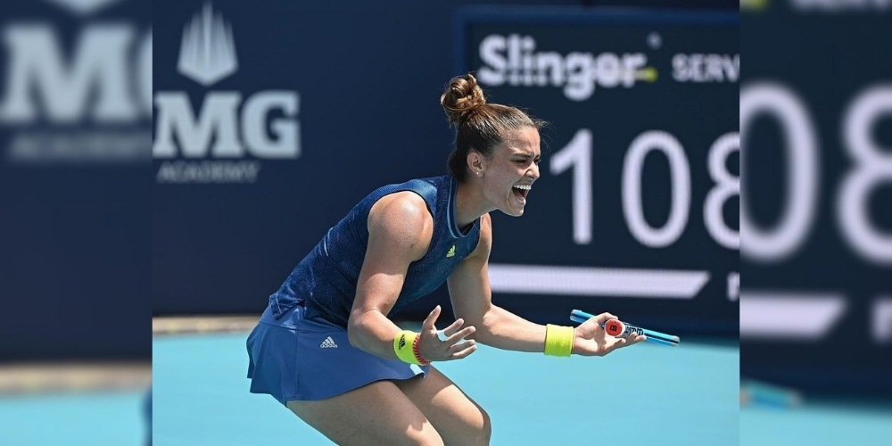 Miami Open: Naomi Osaka's winning streak ended in quarterfinals by Maria Sakkari, Daniel Medvedev also ousted